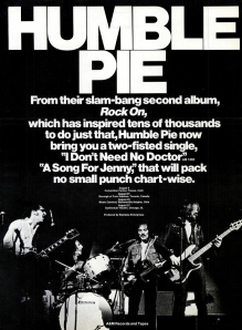 Humble Pie - Rock On 1971